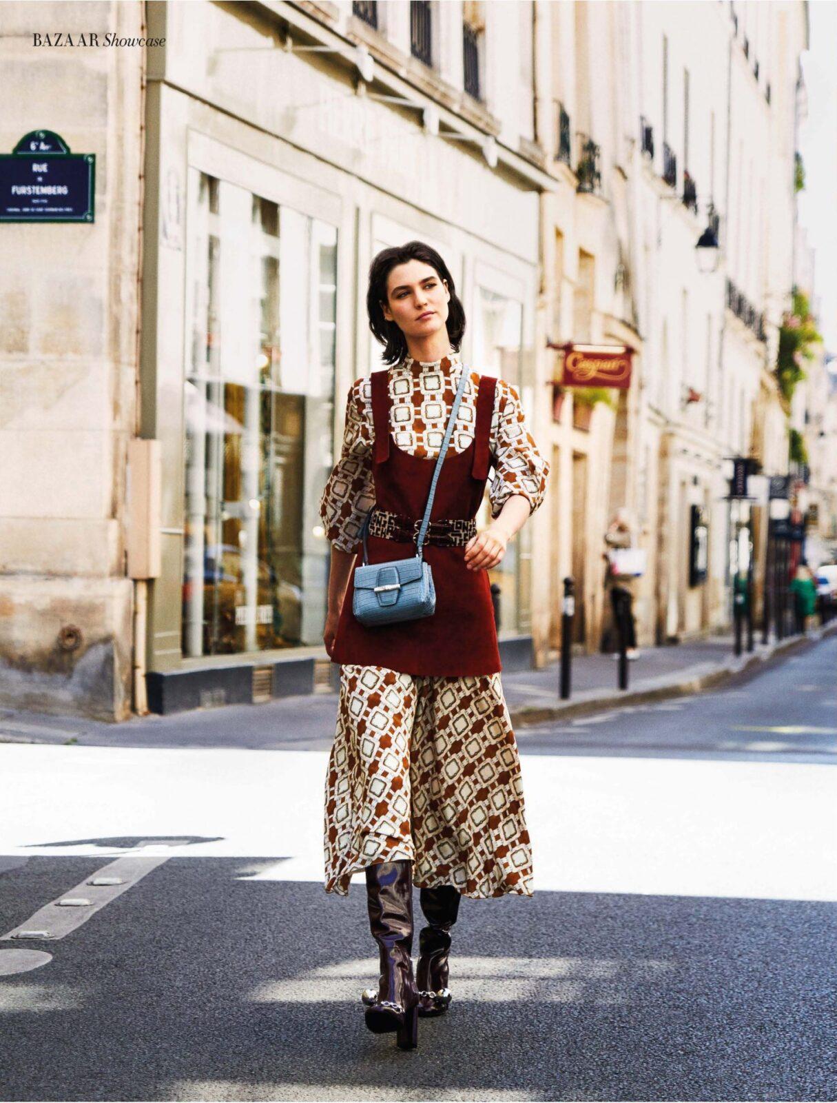Sandra Semburg Harper Bazaar Longchamp Caroline Bleux