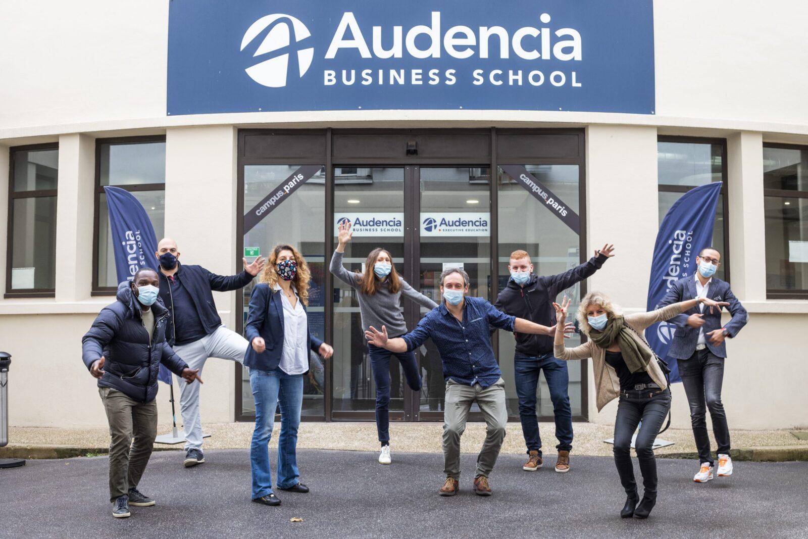 Reportage Audencia Business School Photographe Caroline Bleux